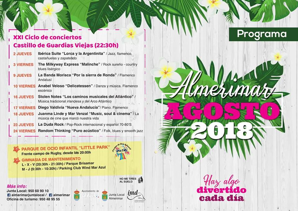 Almerimar August Events 2018