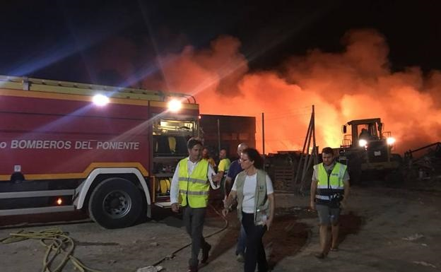 Fire At Plastic Recycling Plant - Aug18