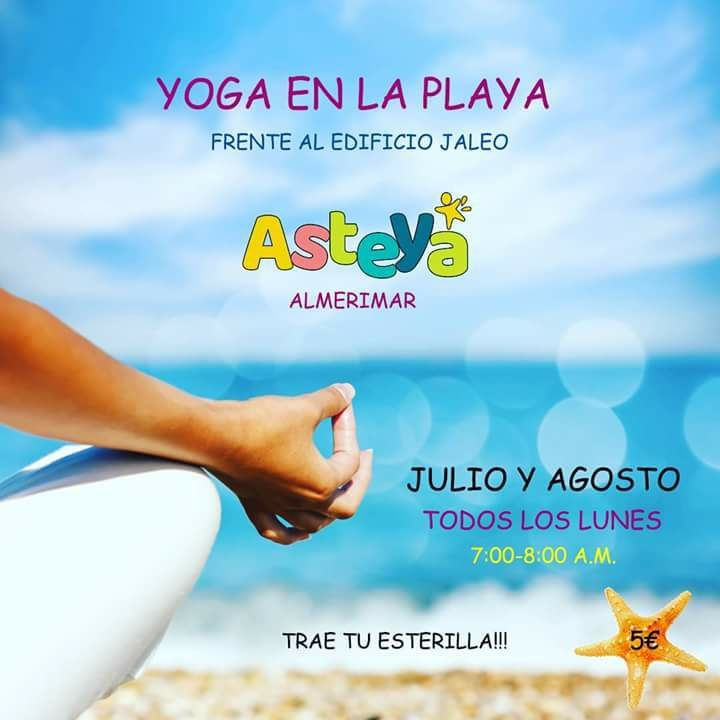 Summer Yoga On The Beach 2018