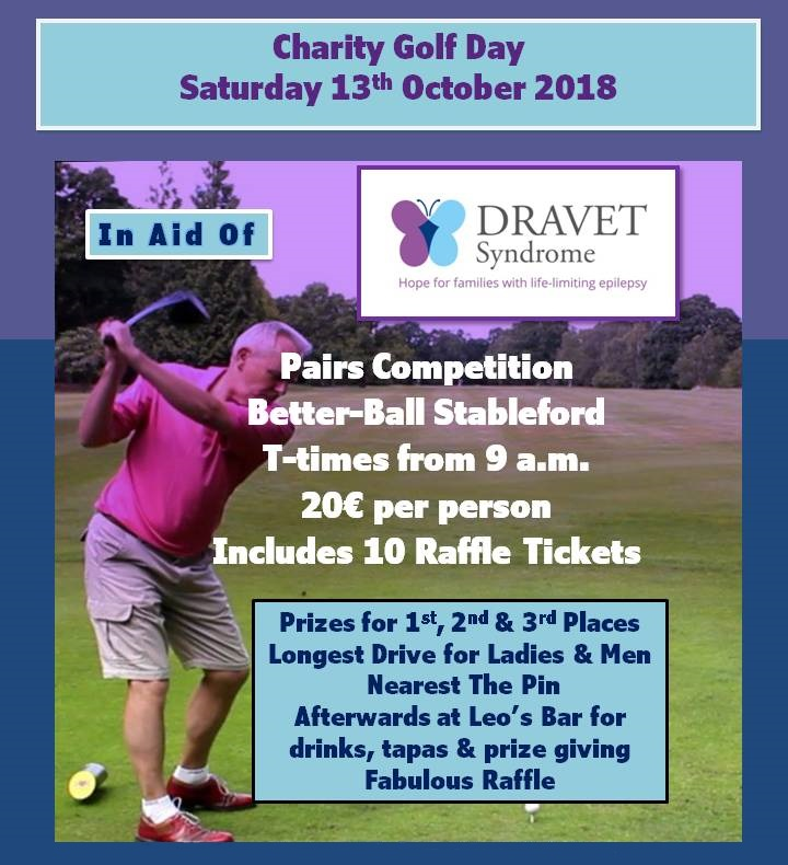 Dravet Charity Golf Day - 13 October 2018