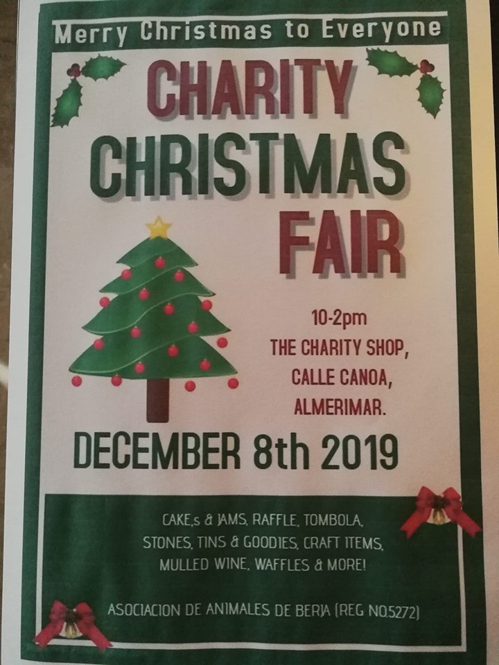 Charity Shop Fair - 8 Dec 19