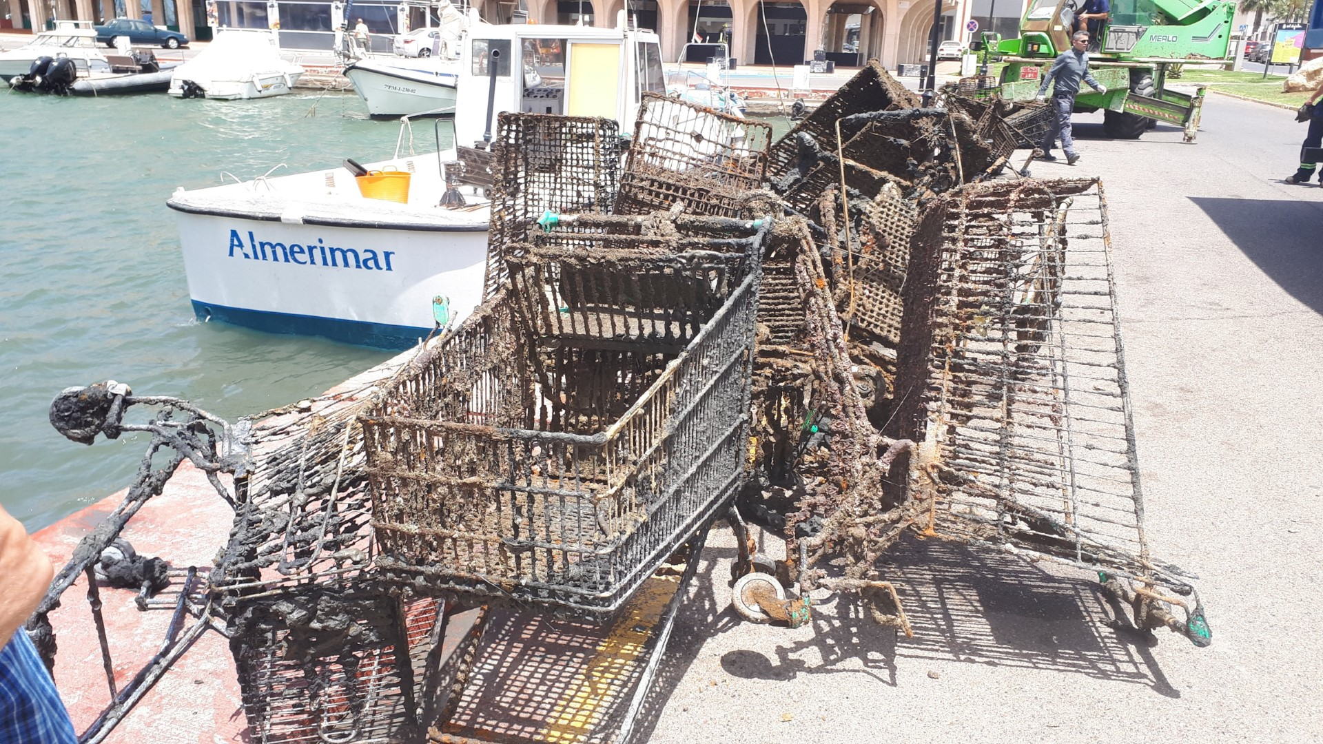 Mercadona Trolleys Marina 8 July 19
