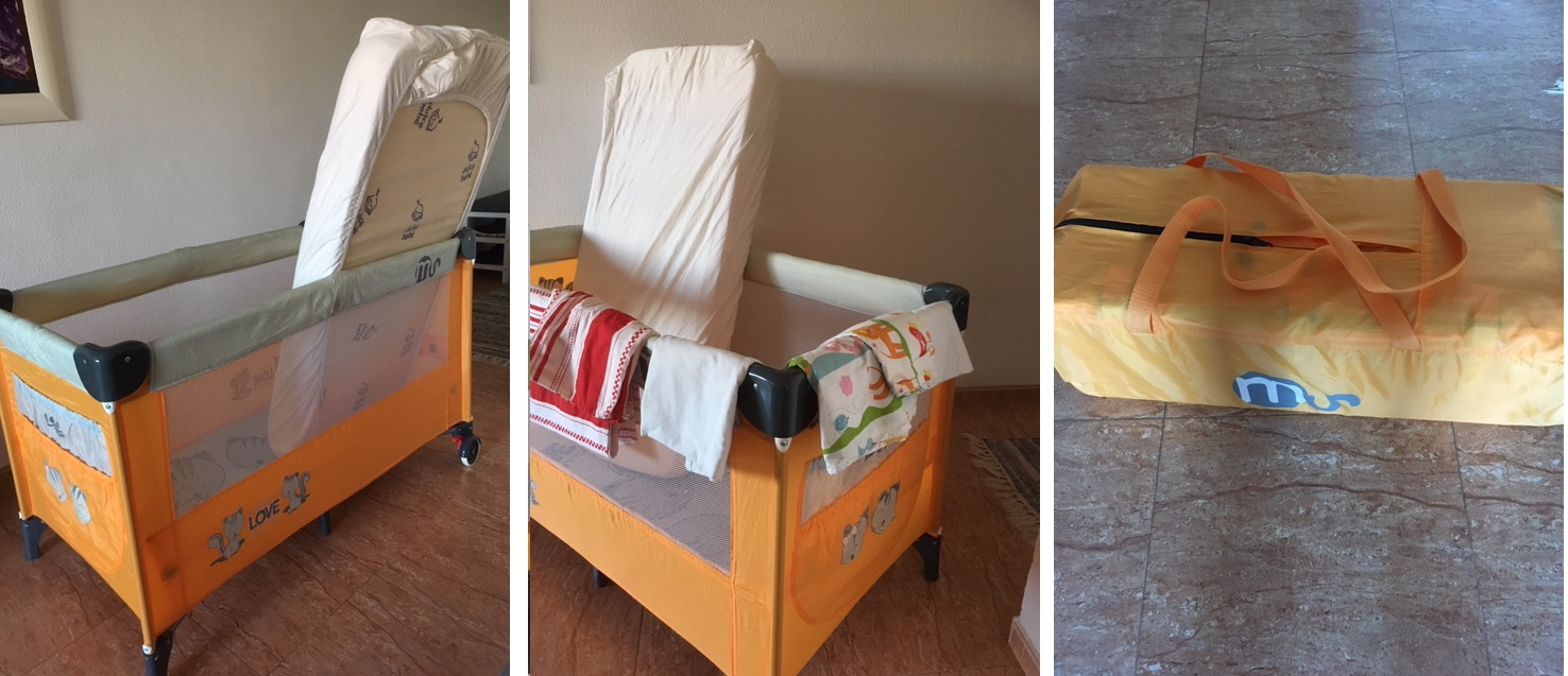 Travel cot for sale - Oct 19