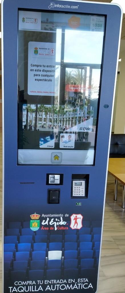 Council Events Ticket Purchase Machine