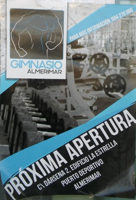 Gym opening in Almerimar
