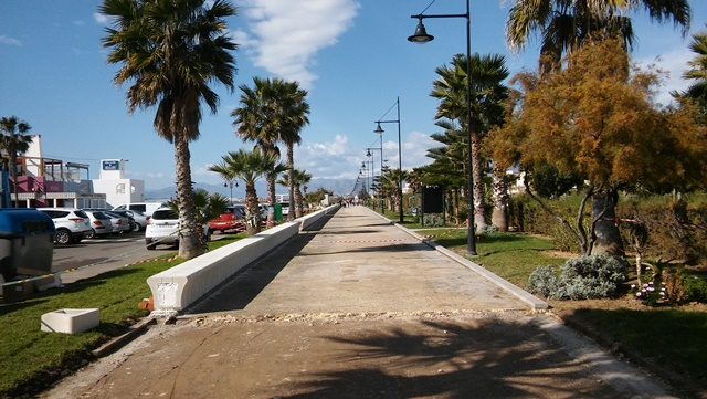 Poniente Cyle Path - January 2017