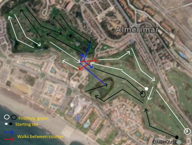 Almerimar winter golf layout?
