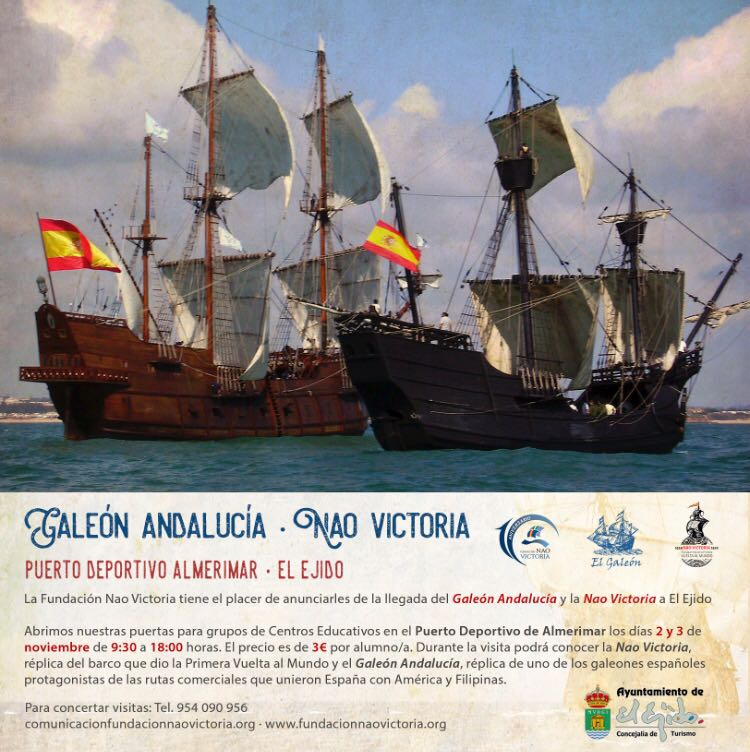 Galleon in Almerimar - Nov17