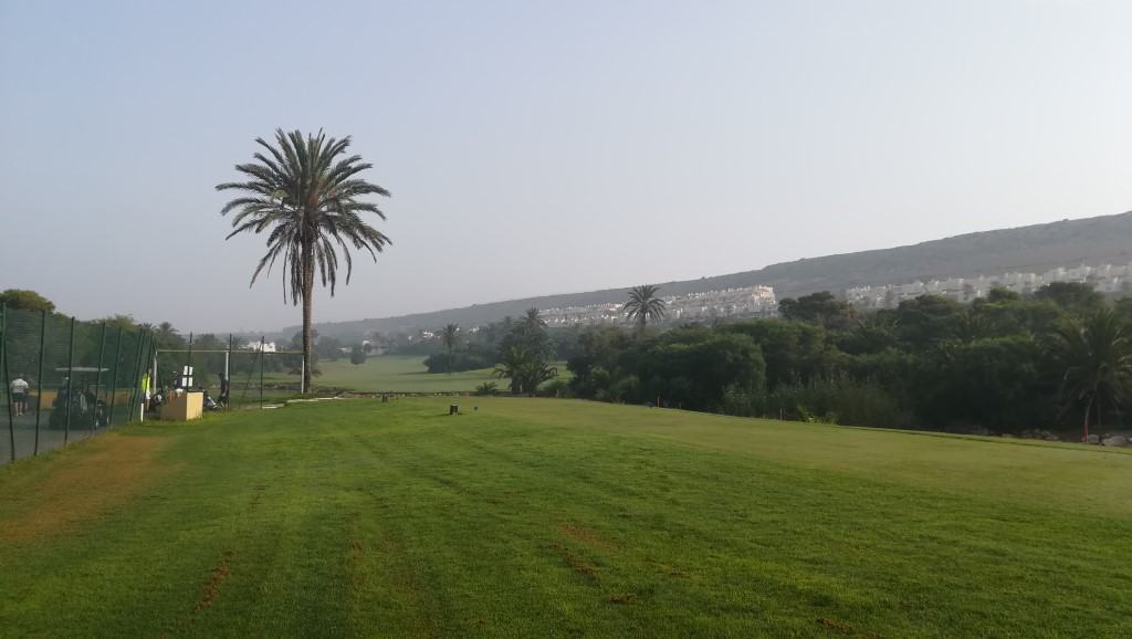 Almerimar mist - 22 July 2018