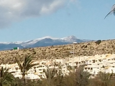 Snow on local mountains - 29 February 2106